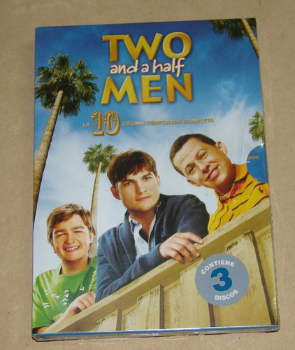 two and a half men 10 temp. completa 3 dvds sellado kktus