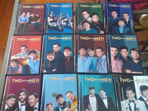 two and a half men completa en dvd!!! 12 temporadas