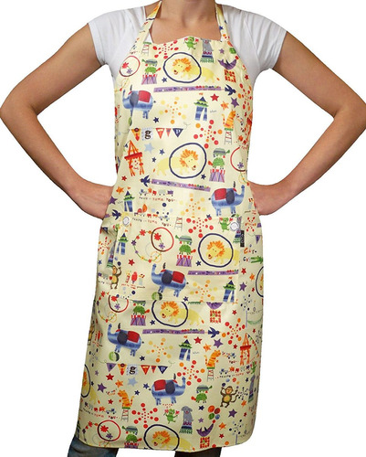 two lumps of sugar adult apron, circus