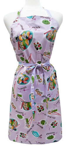 two lumps of sugar adult apron, wasabi