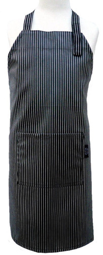 two lumps of sugar child apron, pinstripe