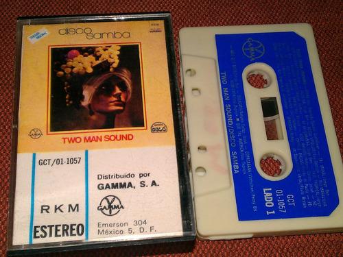 two man sound cassette disco samba sello gamma pm0