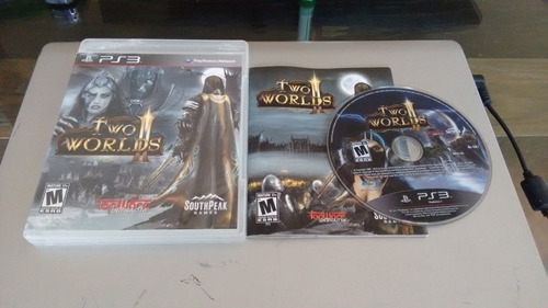 two worlds ii completo para play station 3,excelente