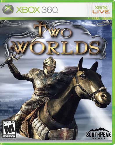 two worlds  - xbox 360 - usado