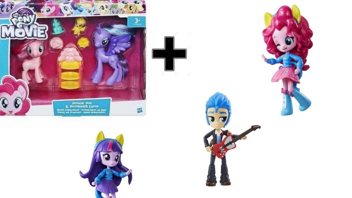 0e768cd0135 Twylight Sparkle Pinky Pie Flash Sentry Equestria Girls Mini ...