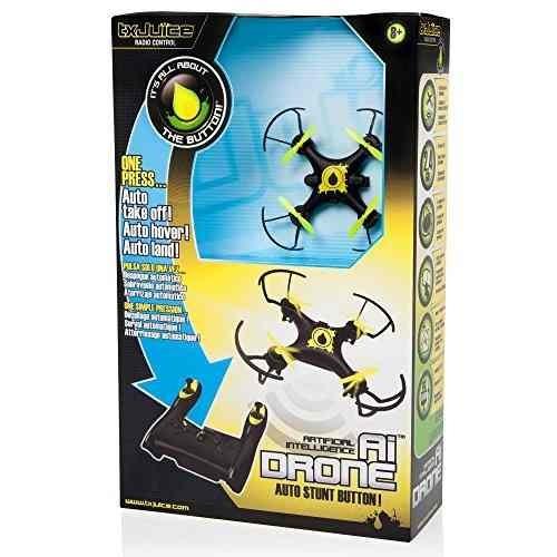 tx juice ai drone - primer rc quadcopter con auto despegue,