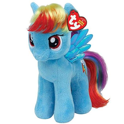 ty beanie babies peluche my little pony rainbow dash 17 cm