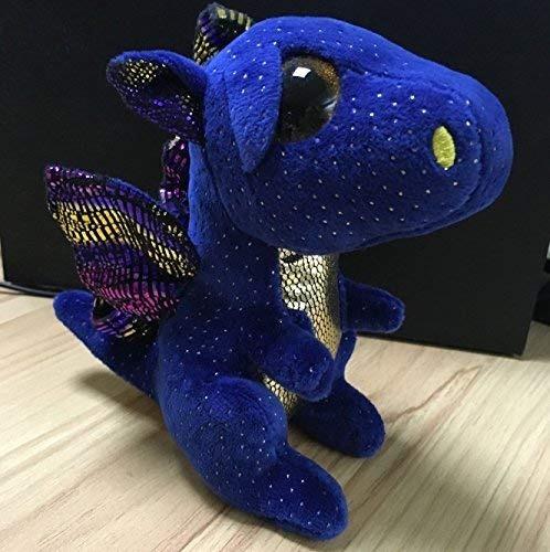 Ty Beanie Boo Boos Gorros Blue Dragon Saffire 6 Felpa... -   67.530 ... f77f1108be8