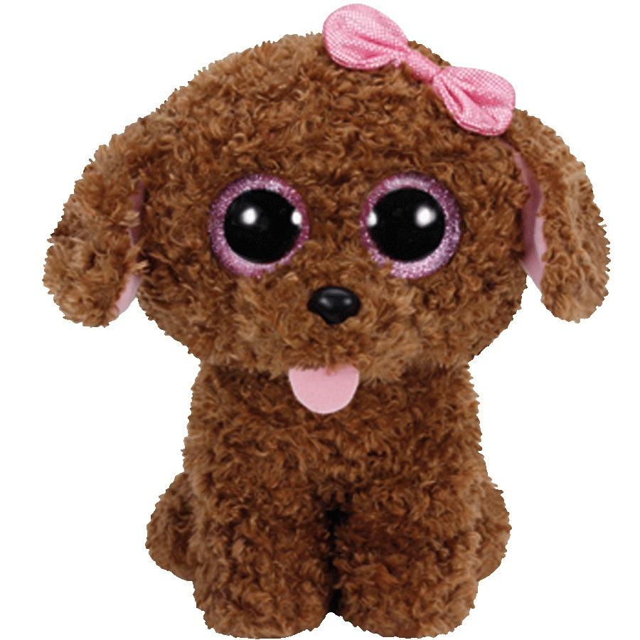 Ty Benie Boos Dog Plush Toy Rainbow