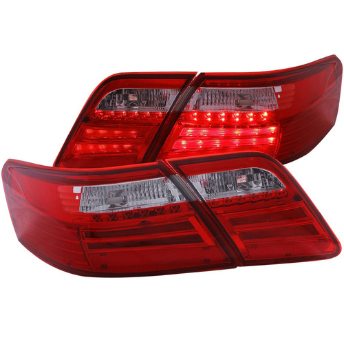 ty camry 07-08 led tl g2 4pcs red/clear w/led