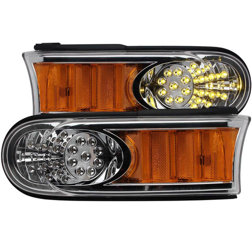 ty fj cruiser 07-13 l.e.d parking lights chrome