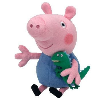 ty peppa pig reino unido exclusivo beanie baby george