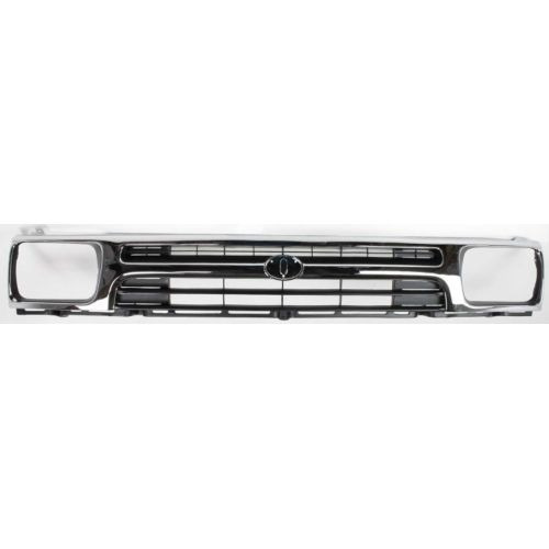 ty pickup 92-95  parrilla 2wd, black / chrome,
