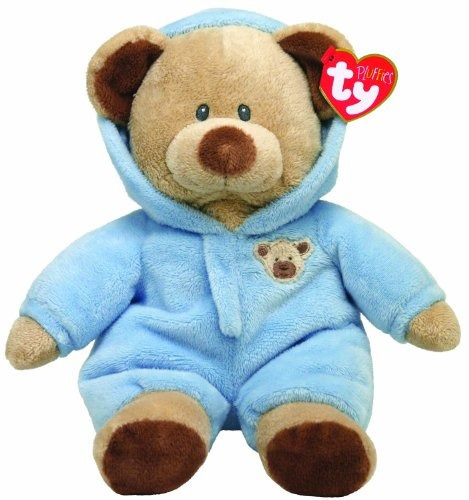 ty pluffies pj oso 9  blue