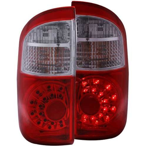 ty tundra 00-06 led tl red/clear double cab