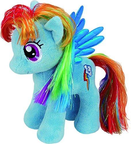 ty uk 12-inch my little pony rainbow dash buddy