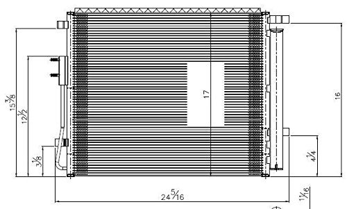 tyc 4229 hyundai papá fe reemplazo la / c condensador