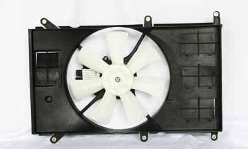 tyc 600910 mitsubishi galant conjunto de ventilador de refri