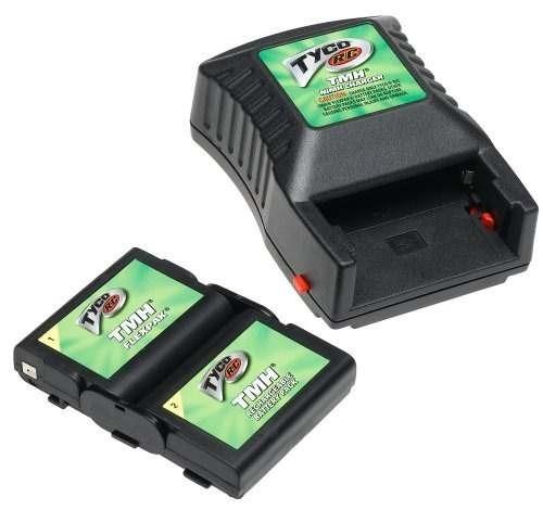 tyco rc tmh flexpak batería recargable con cargador por