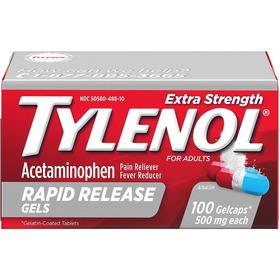Tylenol Gel Extra Fuerte 500 Mg X 100 Tabletas