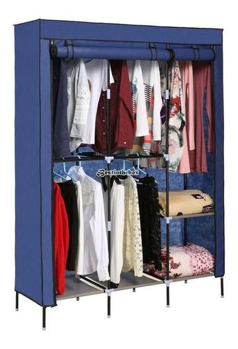 type 1 blue wardrobe - portátil de ropa armario armario-4959