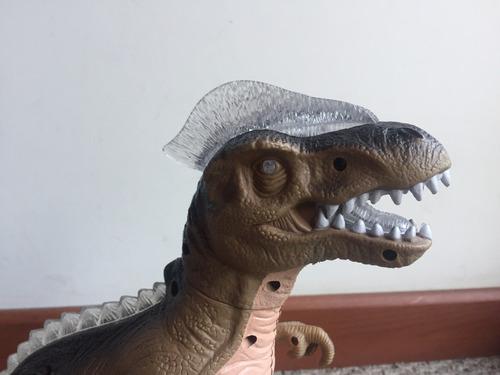tyrannosaurus rex dinosaurio juguete con luz y sonido