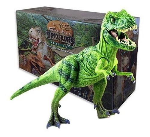 tyrannosaurus rex t rex dinosaurio figura de acción juguetes