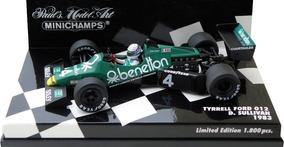 1//43 TYRRELL 012 BENETTON 1983 Michele Alboreto F1 FORMULA 1 RBA ESCALA