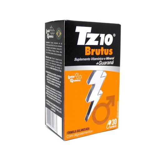 tz10 brutus pré treino com guaraná