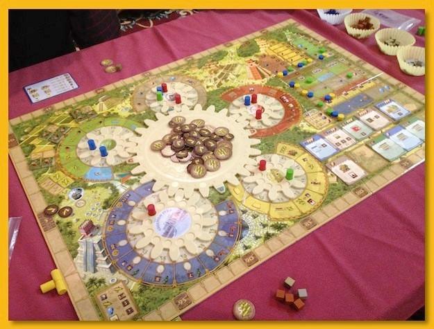 Tzolkin The Mayan Calendar Juego De Mesa Ingles 1 580 00 En