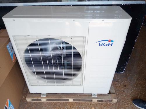 u. condensadora multisplit inverter bgh nueva 9000 frig.