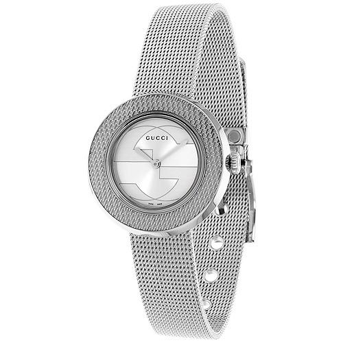 5983af14d0e U-play Gucci Plata Señoras Reloj Ya129407 -   2.192.111 en Mercado Libre