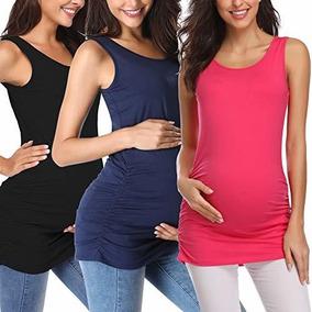 bearsland de las mujeres maternidad enfermer/ía camiseta de tirantes y Cami camisetas