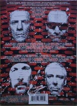u2 - 360 tour - at the rose bowl - dvd duplo - ed. luxo