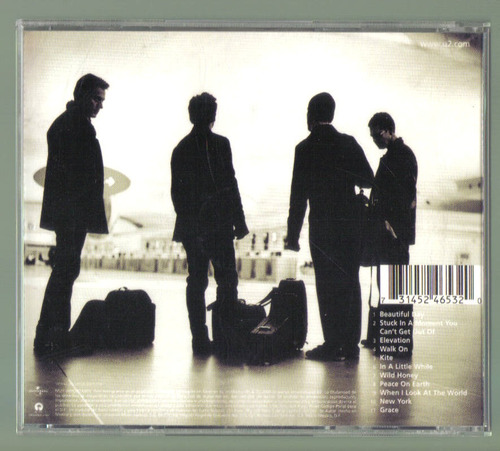 u2 all that you cant leave behind cd 1a ed 97 c/booklet  idd