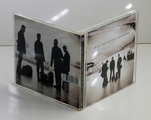 u2 - all that you can't leave behind - cd europeo