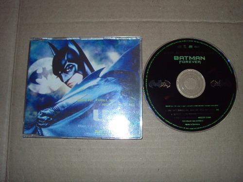 u2 batman forever single cd aleman