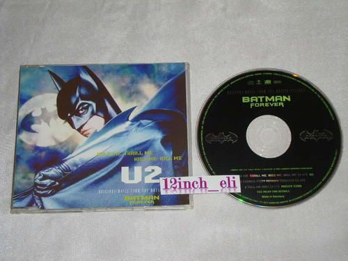 u2 batman halo me thrill me kiss me kill me 95 wea cd promo