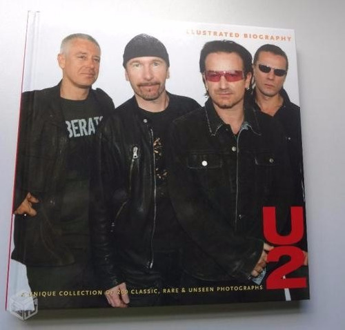 u2 -  book the illustrated biography new imported!!!