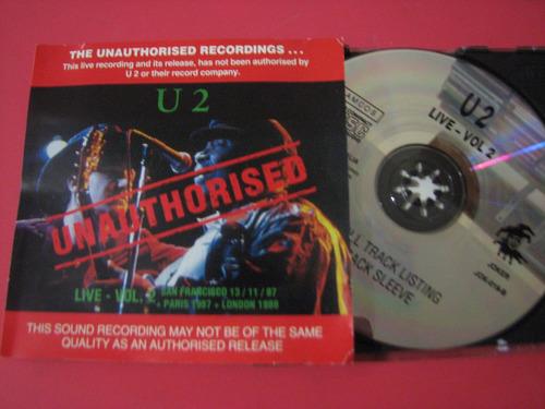 u2 cd live vol. 2 unauthorised rattle era