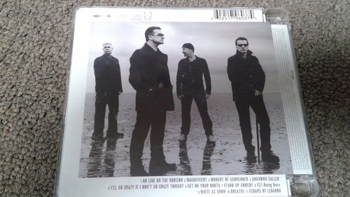 u2 cd no line on the horizon impecable