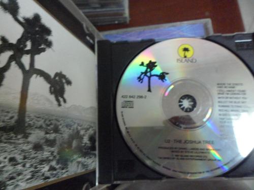 u2 cd the joshua tree