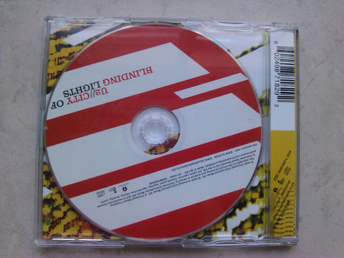 u2 - city of blinding lights cd single - reino unido