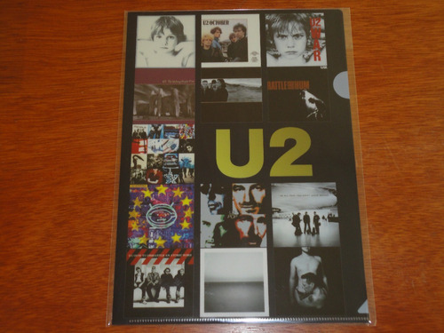 u2 clear folder limited edition import japan c/envío gratis!
