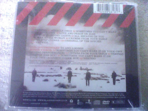 u2 - how to dismantle an atomic bomb (cd/dvd)
