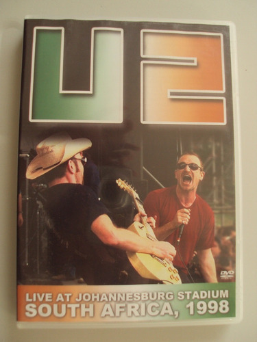 u2 live at johannesburg staduyn south africa, 1998 dvd novo