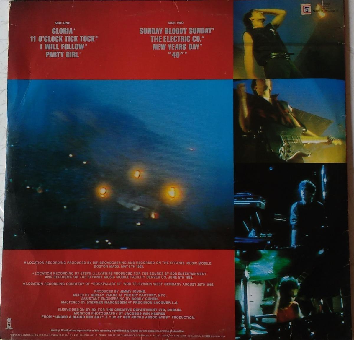 U2 - Live - Lp - Curtir