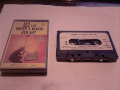 u2 live under a blood red sky cassette new zeland