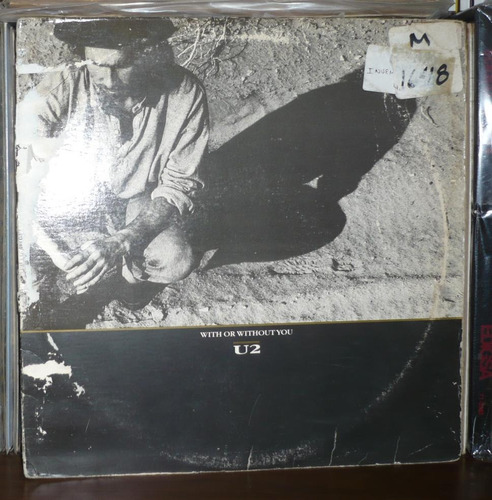 u2 lp single with or without you importado usa