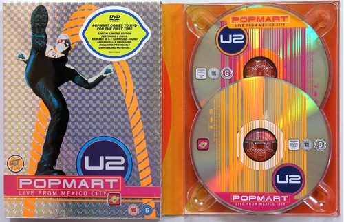 u2: popmart live from mexico city 2 dvds